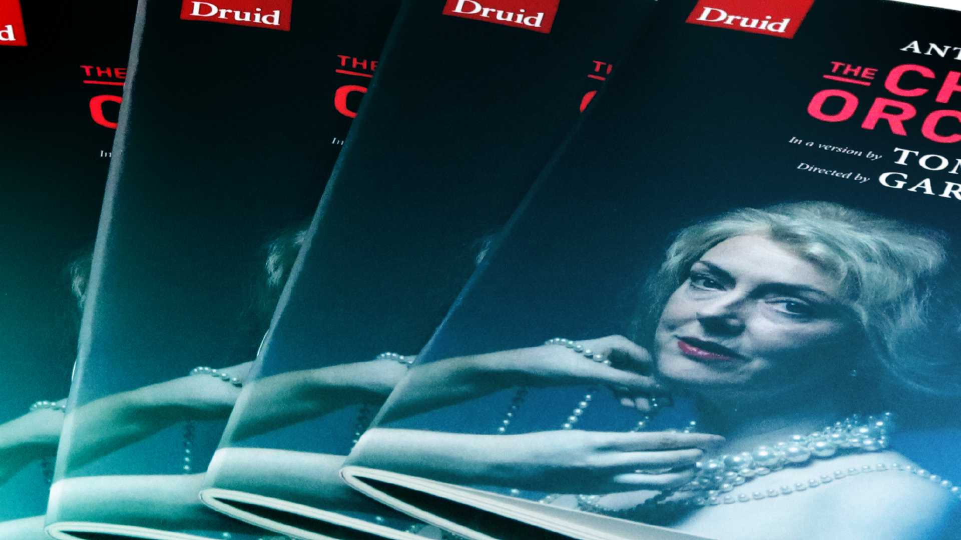 iSupply print work, Druid theatre brochure