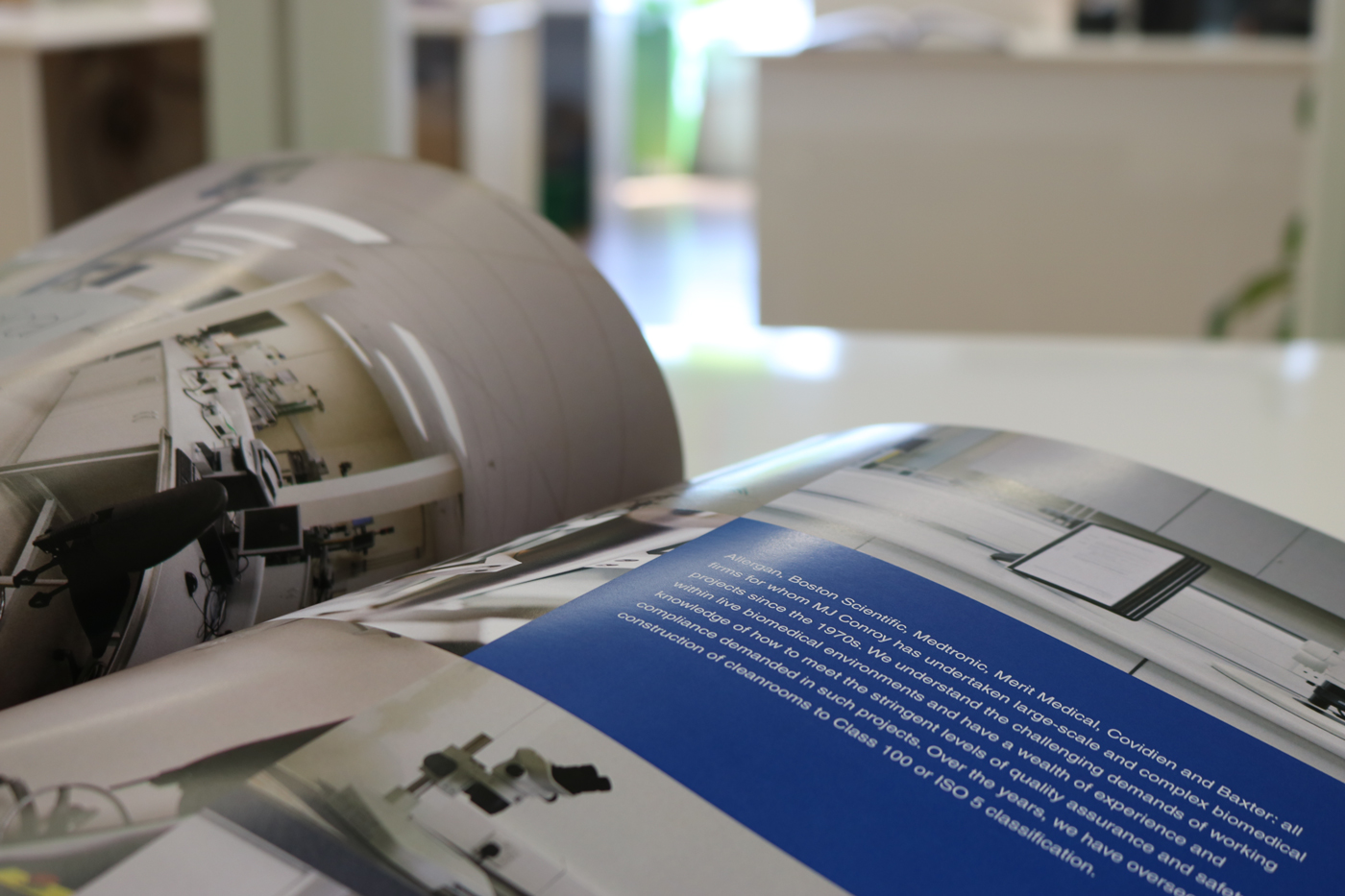 A brochure for Boston Scientific, designed and printed by iSupply Galway
